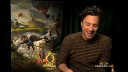 Zach Braff - Oz the Great and Powerful interview